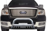 TrailFX Ford F-Series 3 Polished Stainless Steel Bull Bar  -  Cat No: 002  -  Click To Order  -  ID: 193