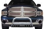 TrailFX Dodge Ram 3 Polished Stainless Steel Bull Bar  -  Cat No: 003  -  Click To Order  -  ID: 194