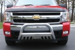 TrailFX Chevy Silverado 3 Polished Stainless Steel Bull Bar  -  Cat No: 01  -  Click To Order  -  ID: 191