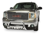 Westin GMC Sierra Chrome Ultimate Bull Bar With Skid Plate  -  Cat No:   -  Click To Order  -  ID: 206