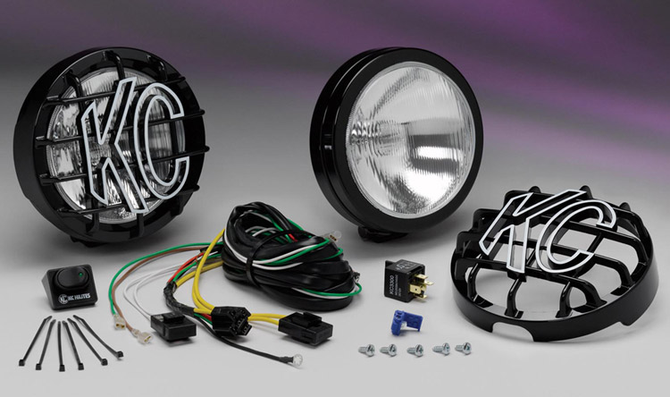 KC HiLites SlimLite 6 Fog Light System  -  Cat No:   -  Click To Order  -  ID: 189